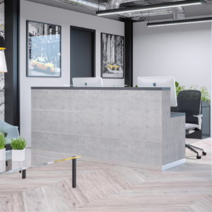 Grey Reception Counter