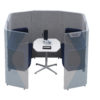Mid High Acoustic Pod for 4 people