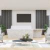Reception Desk Design in Limestone Prima Corian