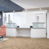 2 Person Reception Desk with Raised Counters