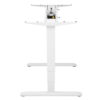 Sit Stand Desk Frame in white