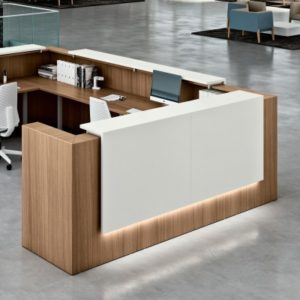 Zoom Reception Desk