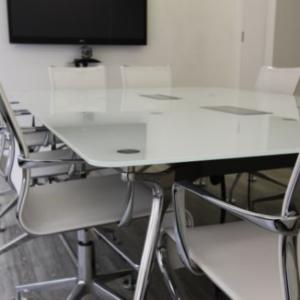 Glass Boardroom Table