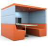 Haskell Acoustic Booth Pod