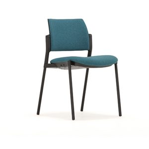Meet Meeting Chair with upholstered back