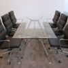Sky Glass Meeting Table