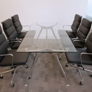 Sky Glass Meeting Table