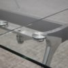 Sky Glass Table multi-section table top joint