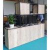 Modular Storage Room Divider
