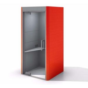 Skype Pod in red