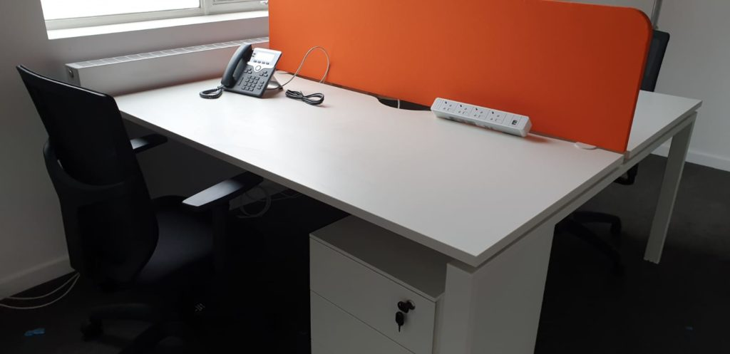 Desk furniture supplied by Solutions 4 Office for Fairfield Halls