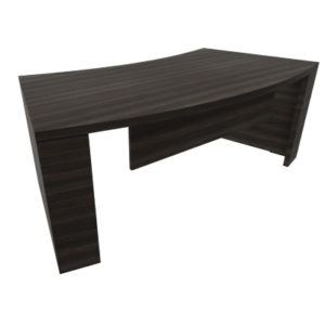 Kara Executive Curved Desk in Royal Brown Oak 3636320MTMT