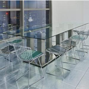 Modern Boardroom Glass Table