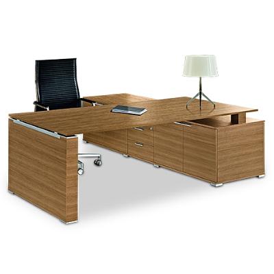 Executive Desk with Return Unit