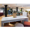 Plateau Breakout Tables in White
