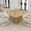 Triangular Meeting Table