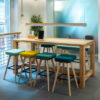 Wooden Meeting Table Standing Height