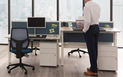 standing height adjustable desks