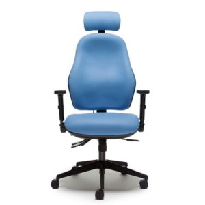 Orthopaedic Office Chairs Bad back chair with headrest