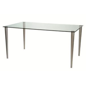 clear glass desk for offices