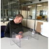 Desk Top Clear Perspex Divider