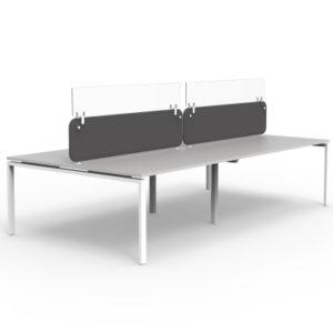 Protection at Work Dividers on Desks