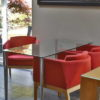 Glass Top Meeting Table