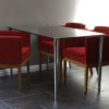 Small Glass Table and Chairs