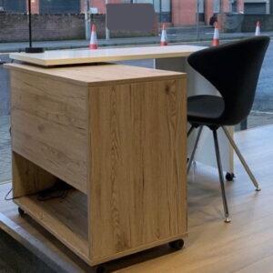Compact Desk Foldaway Desk for Home
