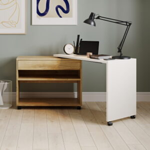 Foldaway Small Desk for Home