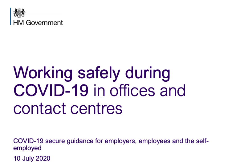 A guide: working safely during covid-19