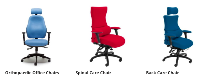 Back care office chair