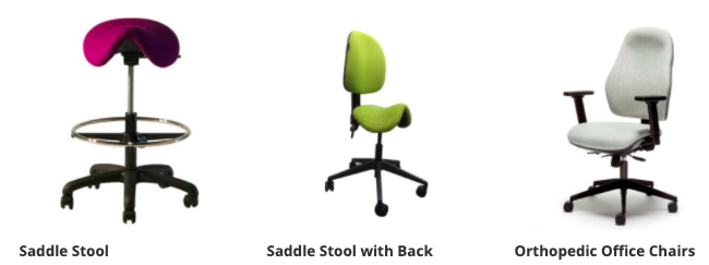 Office chairs which relieves back pain