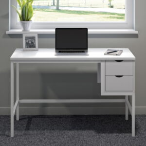 White Desk with Drawers for home