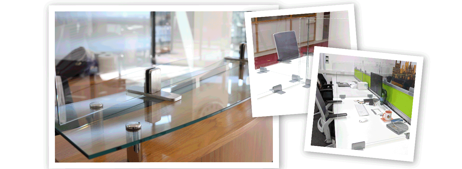 Covid Screens protection in the office