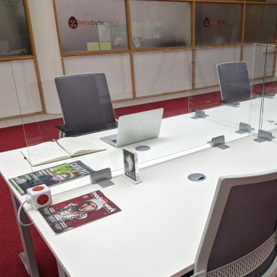 Covid Screens for Desks transparent