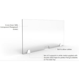 Plexiglass Dividers for Desks