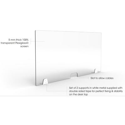 Plexiglass Dividers for Desks