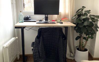 Sit Stand Desk in Paris