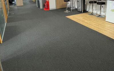 Recarpet project for a client in Weybridge